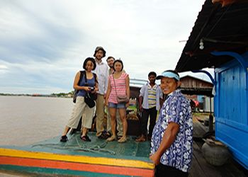 Private Boat to Battambang