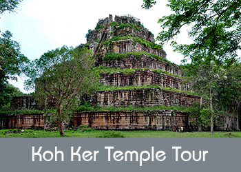 Koh Ker temple tour